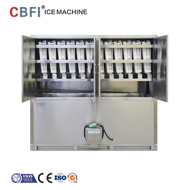 ETC 3 Tons Commercial Ice Cube Machine / Stand Alone Ice Maker supplier