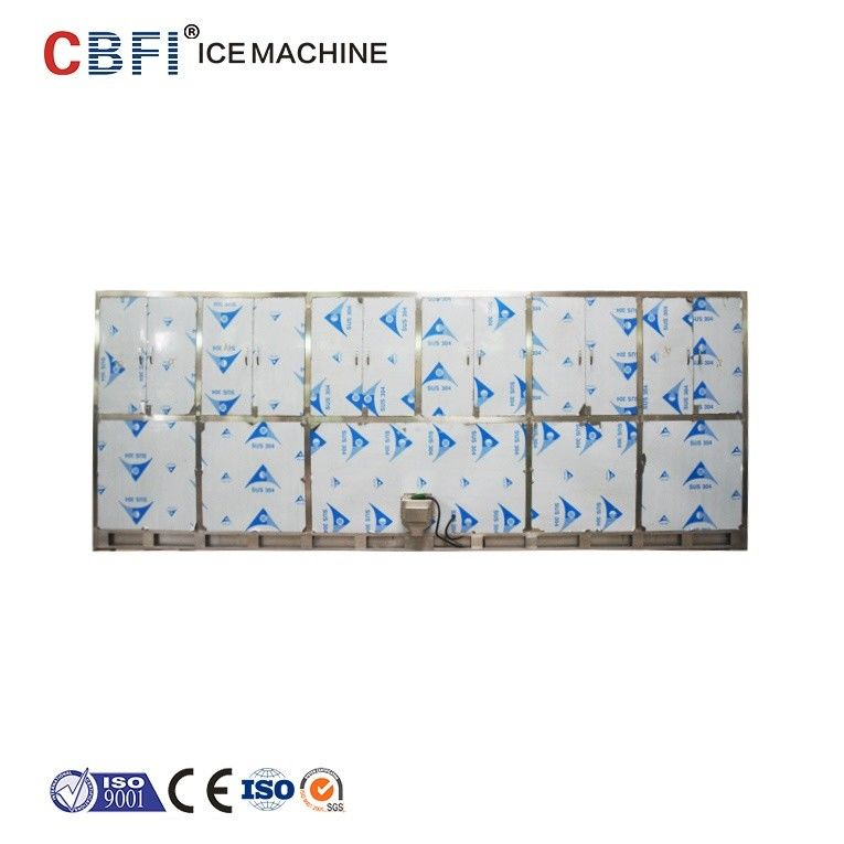 22*22*22mm R507 Refrigerant Ice Cube Machine For Indonesia Ice Plant supplier