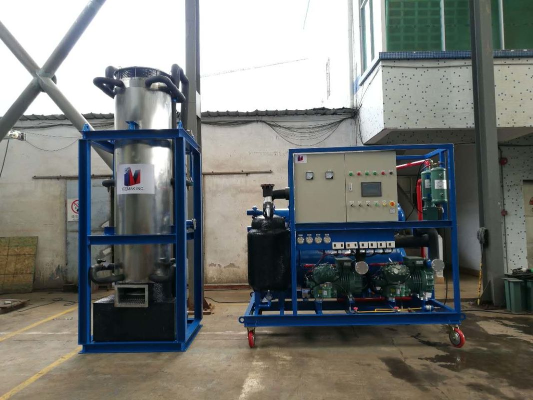 High Efficiency 10 ton Ice Tube Machine with Touch Screen CE  ISO supplier