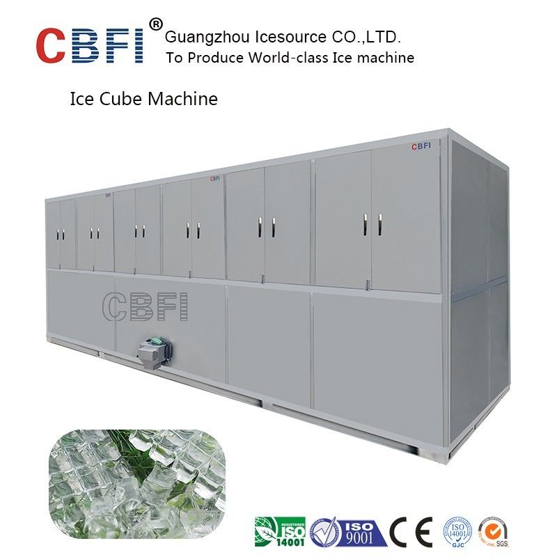 Air Cooled Cube Ice Making Machine Large Capacity 3000Kg /24h supplier