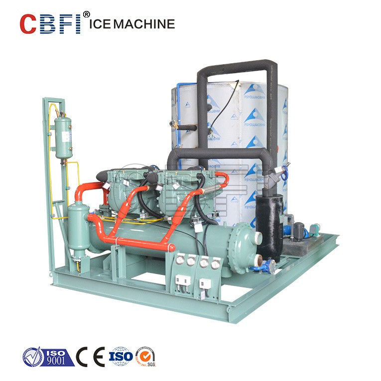 20 Tons Daily Capacity Flake Ice Machine / Ice Making Machine Easy Operation supplier