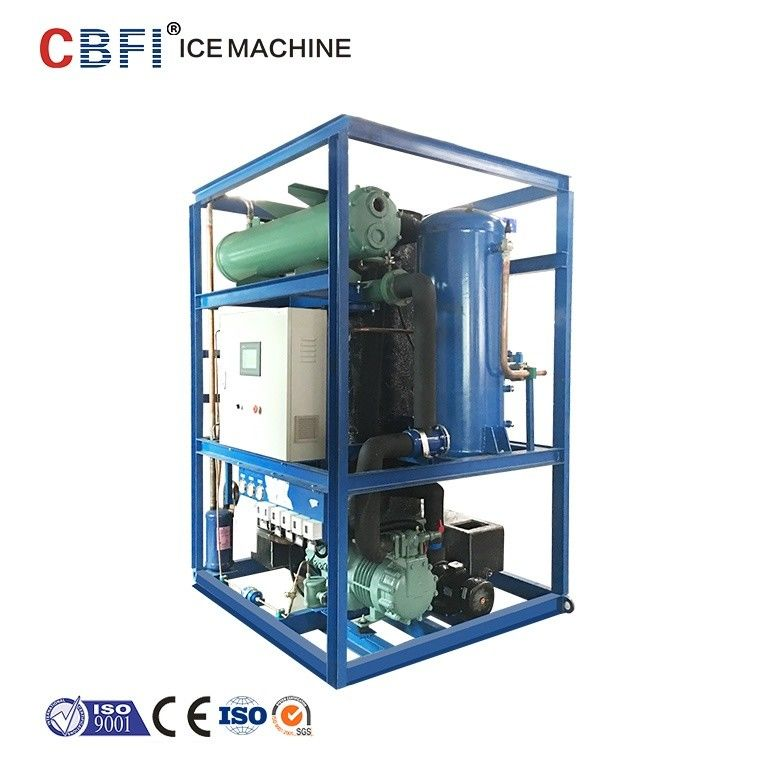Edible Grade Ice Tube Machine For Cooling Cola And Orange Juice 5000kg Capacity Per Day supplier