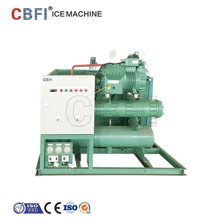 Commercial Water Cooling Ice Block Machine for Fishery CE Certification supplier