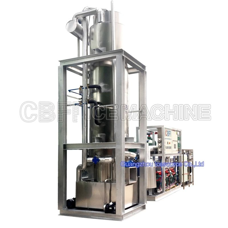 5 Ton Automatic Ice Tube Machine Edible Germany Bitzer Compressor Easy Control supplier