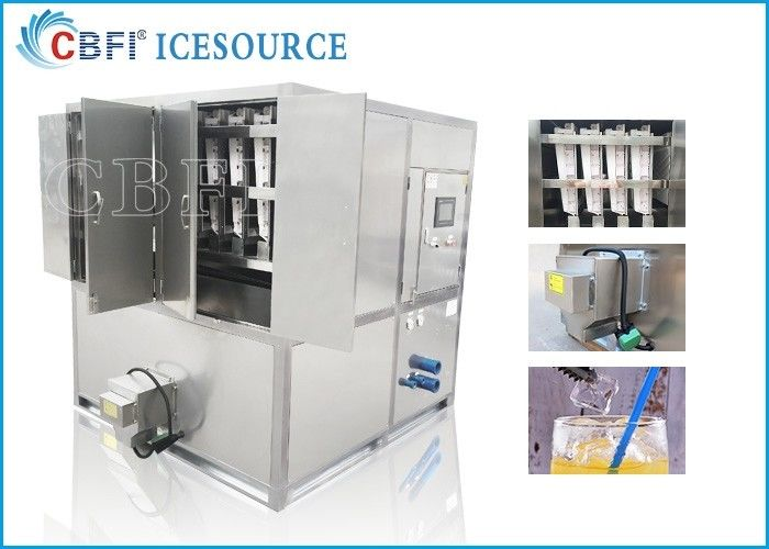 2 tons Commercial Original CBFI Cube Ice Machine from Machine Inventor for Africa Countries  for Hot Weather Area supplier