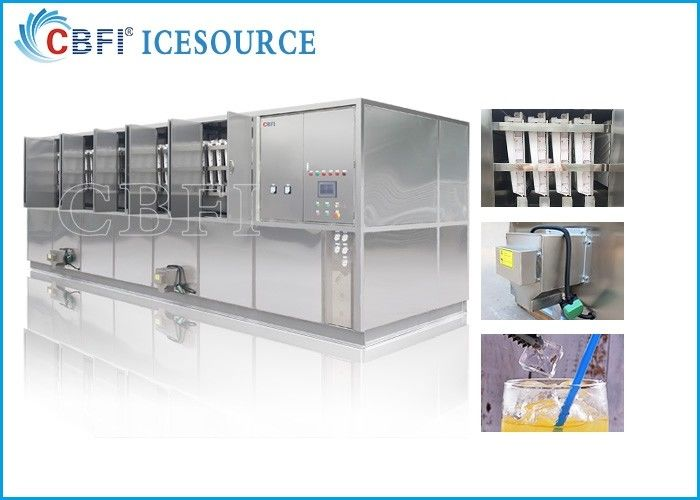 CBFI 20 Tons Large Ice Cube Machine Commercial With Semi Automatic Packing System supplier
