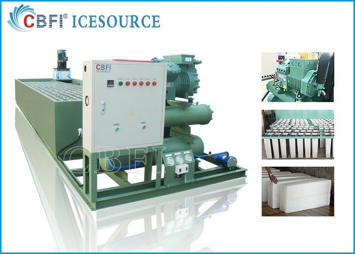 Customized Voltage Ice Block Machine With Germany Bitzer Compressor supplier
