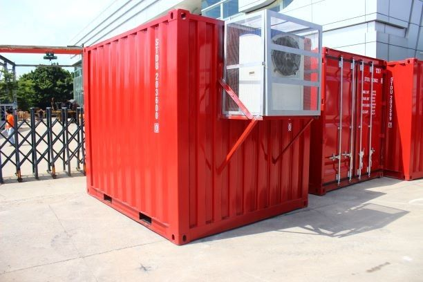 -45 To 15 Degree Container Cold Room / 40 20 Refrigerated Container With Imported Compressor supplier