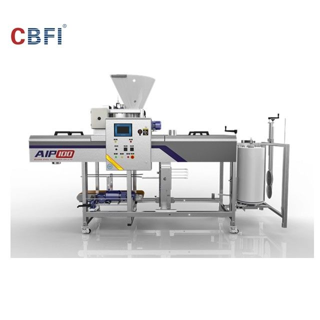 Automatic Ice Machine / Ice Cube Machine With Full Automatic Packing System supplier