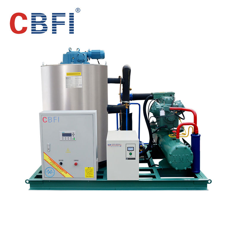 1 Ton To 60 Tons Residential Flake Ice Machine With Air Cooled System supplier