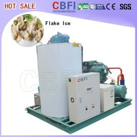 China 1 Ton - 60 Tons Home Flake Ice Machine For Coffee Shop / Supermarkets distributor
