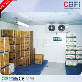 China Stainless Steel Plate Freezer Cold Room / Commercial Cold Room 100 - 200mm Thickness distributor