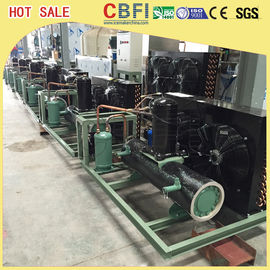 China Easy Operation Low Temperature Chiller / Air Cooled Chiller For Ice Making Machine distributor