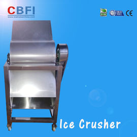 China CBFI Stainless Steel 304 Ice Crusher Machine For Bars / Fast Food Shops distributor
