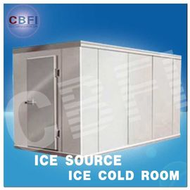 China Concrete Design Moisture Proof Light Cold Room Blast Chiller Freezer With Cement Floor distributor