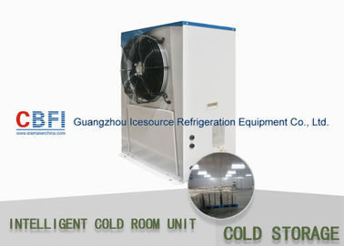 China Sliding Door Cold Storage Units With Air Cooling Condenser 50mm - 200mm Thickness Easy Installation distributor