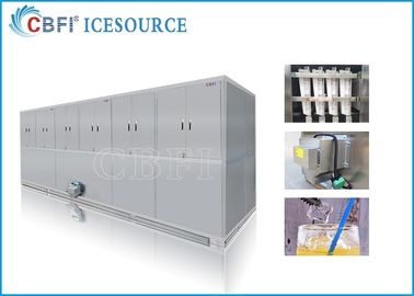 China 10 tons Easy Operation Edible Ice Cube Making Machines Large Production distributor