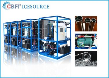 China 2 Ton Purified Safe Bacteria - Free Ice Tube Making Machine / Commercial Ice Maker distributor