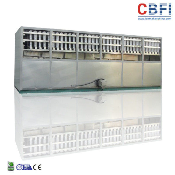 CBFI 1 - 20 ton Stainless Steel Ice Cube Maker Machine For Food Processing factory
