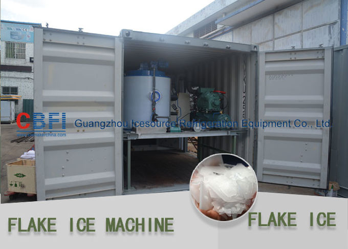 Sea Water And Fresh Water Large Capacity Flake Ice Maker Machine