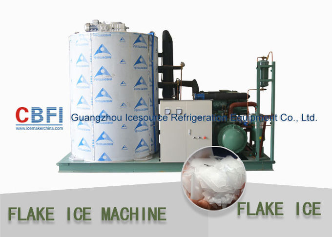 Supermarket Flake Ice Machine With Micro Computer Centralized Control