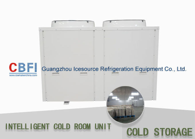 Sliding Door Cold Storage Units With Air Cooling Condenser 50mm - 200mm Thickness Easy Installation