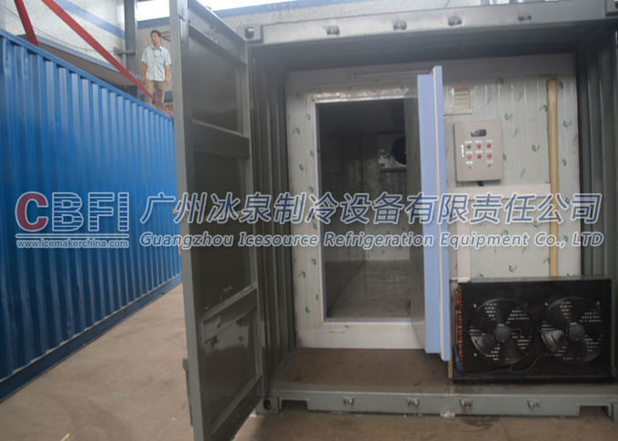 Prefabricated Insulated Cold Storage Containers / 40 Feet Cold Room