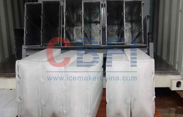 Bitzer Compressor Crane system for optional 5 Tons Ice Block Machine for Ice Plant