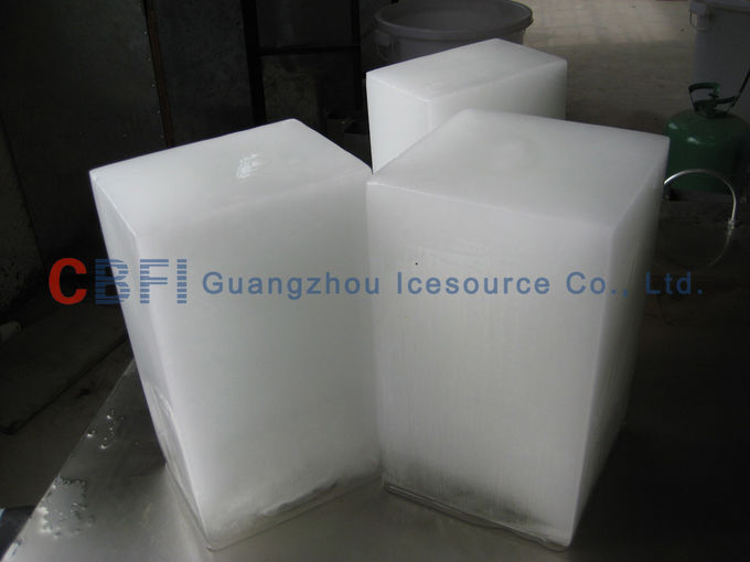 Commercial Water Cooling Ice Block Machine for Fishery CE Certification
