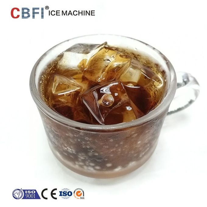 1 Ton Industrial Automatic Edible Large Ice Cube Maker With CE Certificate