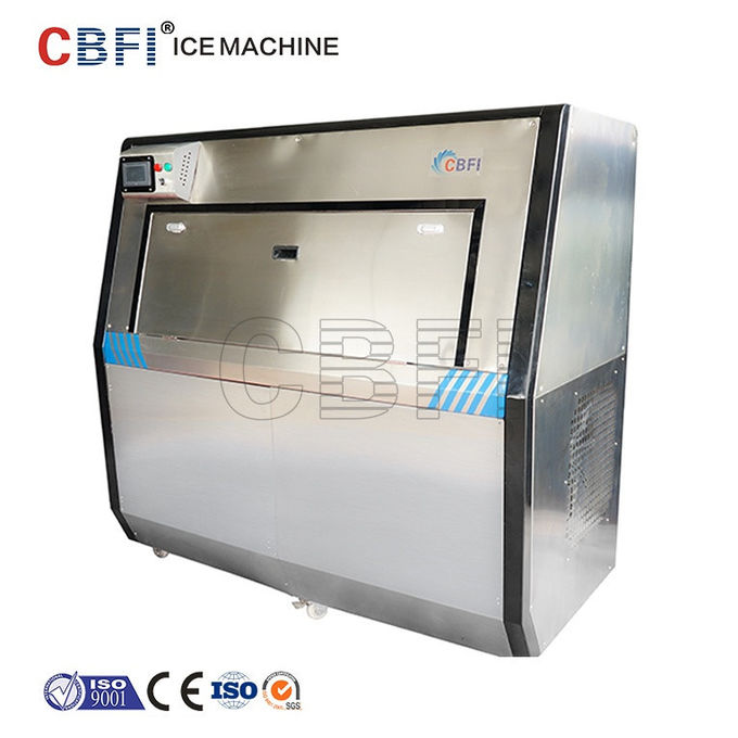 Air Cooling Ice Ball Maker Machine Working Pressure 0.6 - 0.8Mpa