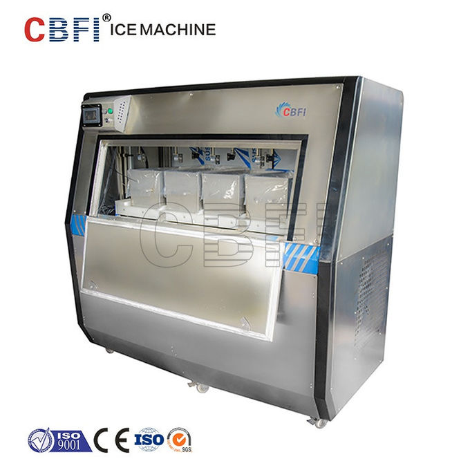 Automatic Round Ice Ball Maker Machine With Stainless Steel 304 Frame