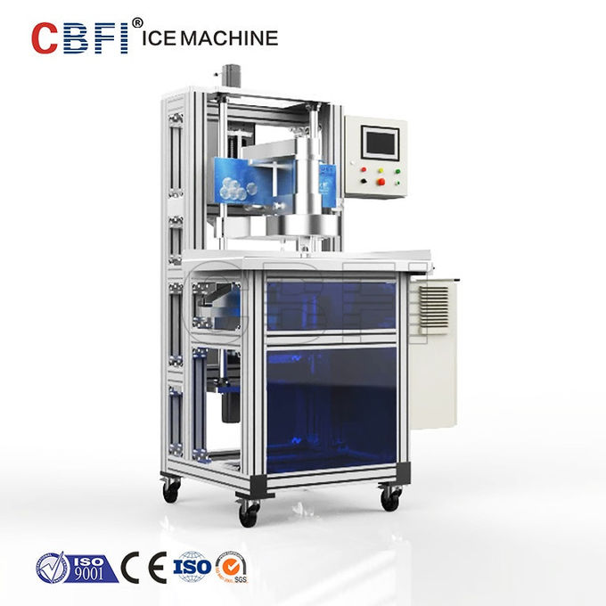 Air Cooling System Spherical Ice Ball Maker Machine With SUS 304 Material