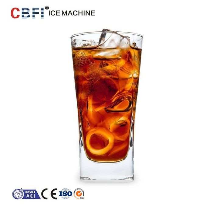 High Output Tube Ice Machine For Fast Food Shops / Supermarkets / Bars