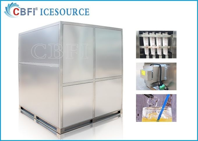 3 tons Edible Large Production Cube Ice Machine with 30 Years Lifetime for Middle East Clients to Sell the Cube Ice